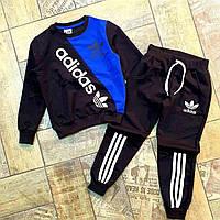 """Спортивний костюм на манжеті ADIDAS на хлопчика 4-11 років """"JUNIOR"""" купити оптом в Одесі на 7 км"""