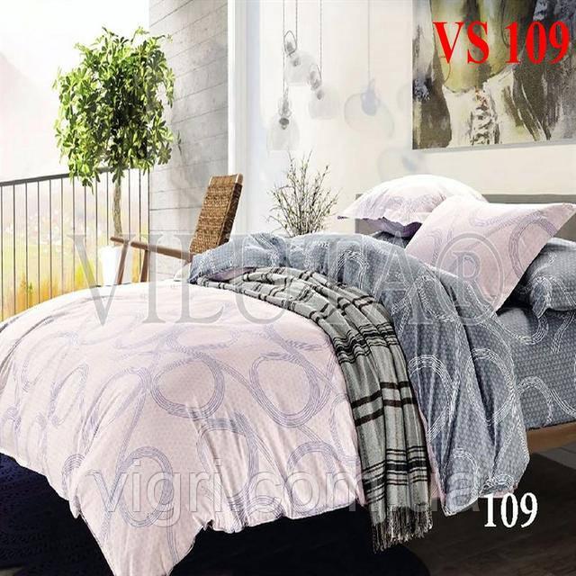Постельное белье полуторка, сатин, Вилюта «Viluta» VS 109