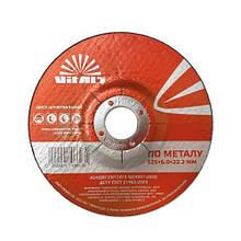 Диск зачистной по металлу Vitals 125х6.0х22.2 мм