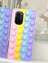 Чохол антистрес Pop it case на Xiaomi POCO F3