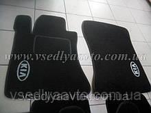 Ворсовые коврики  передние KIA Magentis (2001-2006)