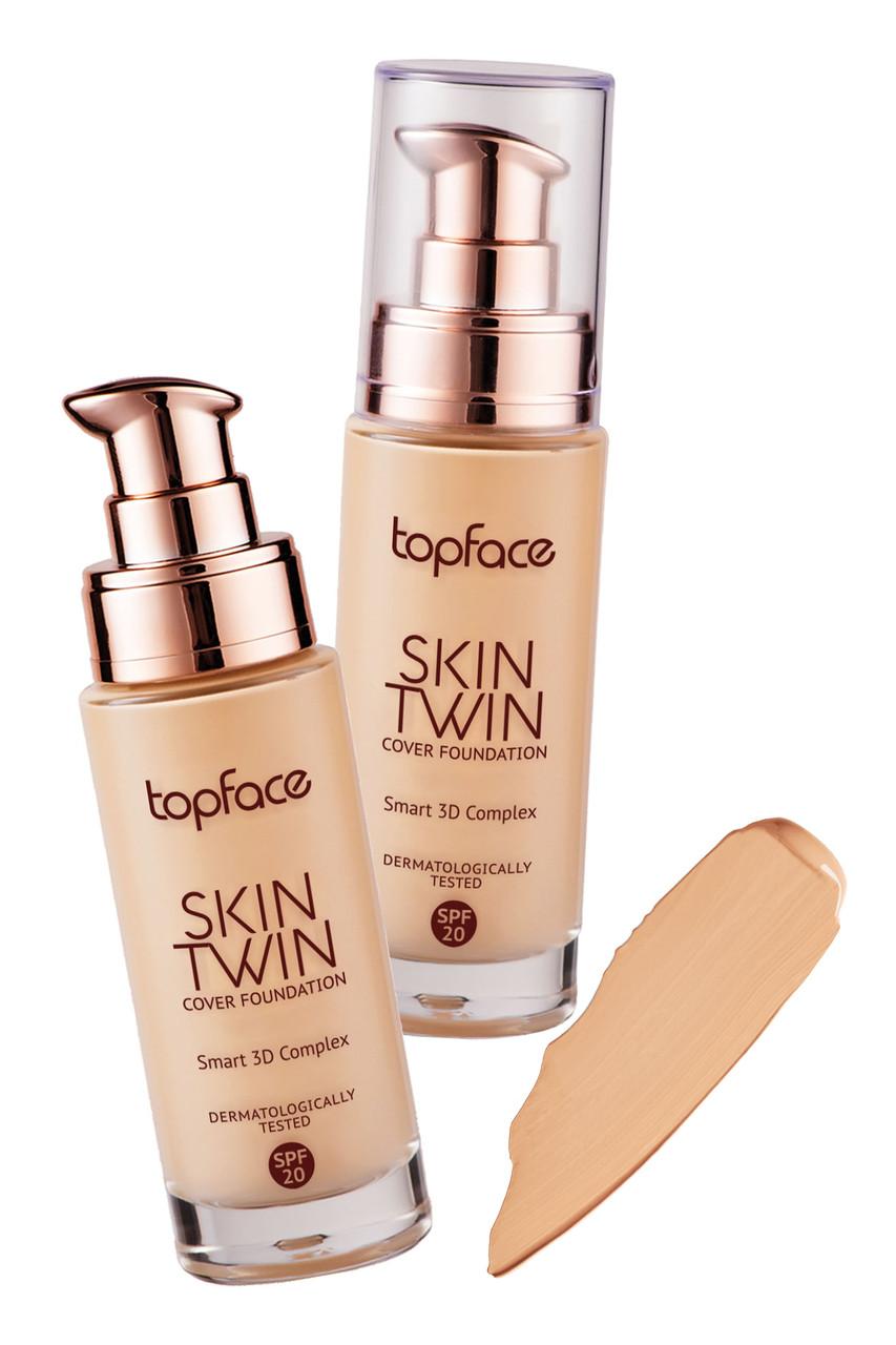 Тональний крем Skin Twin Cover Foundation Top Face PT 464 №3