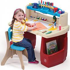 Дитячий письмовий стіл Навчальний куточок Step2 7025