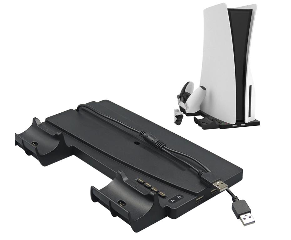 Вертикальная зарядная док-станция iPlay для Sony Playstation 5 / PS5 Digital / DualSense