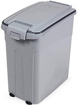 Контейнер для сухого корма 54 л MPS OTO 40*24*55 см (серый)