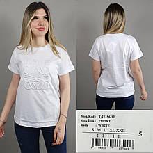 Футболка с вышивкой AMN Турция люкс Новая коллекция 2021! белая