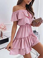 Платье с воланами 46171