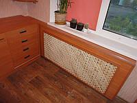 Зашивка,отделка элиментов отопления,водоподачи,комуникаций мебельными материалами