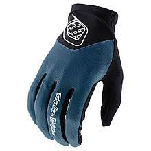 Велоперчатки TLD Ace 2.0 glove S, Черный-Синий