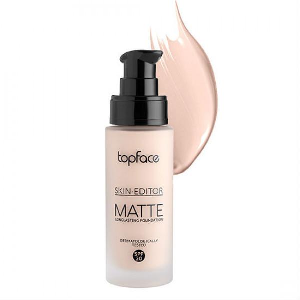 Тональна основа Skin Editor Matte Top Face PT465 №1