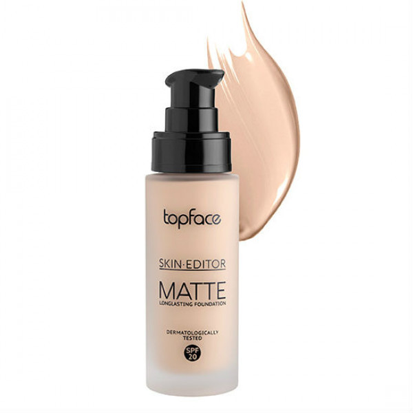 Тональна основа Skin Editor Matte Top Face PT465 №4