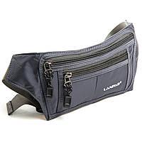 Поясна сумка чоловіча спортивна сіра Арт.61018 gray Lanpad (Китай)