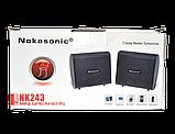 Портативные колонки Nokasonic NK-243 Small Speaker Computer, фото 4