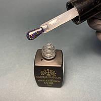 База гель з шиммером для нігтів Global Fashion Magic-Extension №1, 12 мл