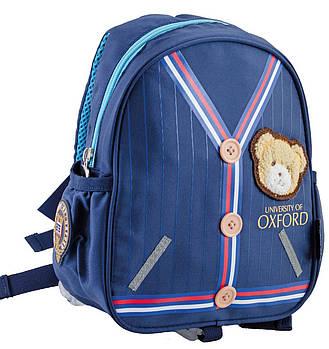 Рюкзак детский для дошкольника YES j025 20.5х25х9,5 см Синий (554067)