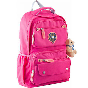 Рюкзак подростковый YES  OX 323 Розовый 29х46х13см (554087)