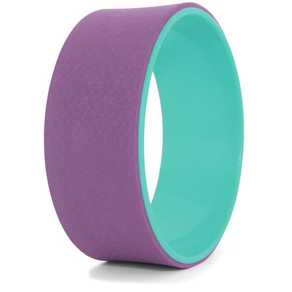 Колесо для йоги, рожево-бірюзове, йога-колесо