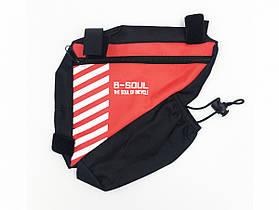 Велосипедна Сумка в раму B-Soul (BAO-009)