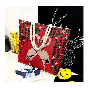 Холщовые сумки, наплечные сумки с принтом, повседневные сумки оптом