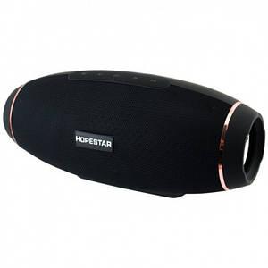 Портативная bluetooth колонка Hopestar H20 31Вт USB,FM с режимом POWERBANK Чёрная