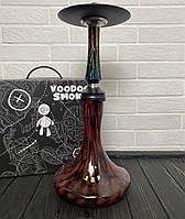 Кальян Voodoo Smoke Down - Jungle з колбою Craft чорно-червоної