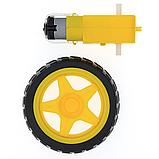 Мотор - редуктор + колесо для машинки робота, фото 2