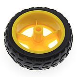 Мотор - редуктор + колесо для машинки робота, фото 4