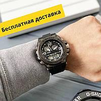 Мужские спортивные наручные часы Касио Casio G-Shock GLG-1000 All Black/Чоловічі спортивні годинники