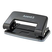 Дирокол для паперу Axent Delta D3510-01, металевий, 10 аркушів, чорний
