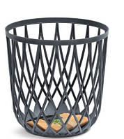 Столик пластиковый, корзина, декоративный, 35 л