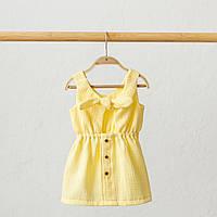 """Муслиновое сукня """"Mia"""", лимонне"""
