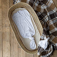 Безразмерная пеленка на молнии с шапочкой Каспер, Зайки, фото 1