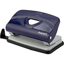 Дырокол для бумаги Axent Exakt-2 3910-02-A, металлический, 10 листов, синий