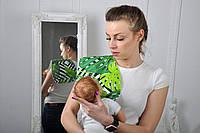 Полотенце для гигиены новорожденного, Папоротник