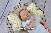 Дитяча подушка 3 в 1 Butterfly, банани