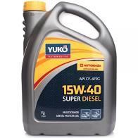 Моторное масло YUKO Super Diesel 15w40 CF-4/SG  1л.