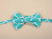 Краватка-метелик, бірюзова