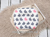 Подушка для новонароджених Класик, зайчики