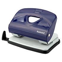 Дирокол для паперу Axent Exakt-2 3920-02-A, металевий, 20 аркушів, синій