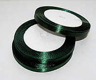 Лента атласная Изумрудная 0.7 см 23 м/бобина