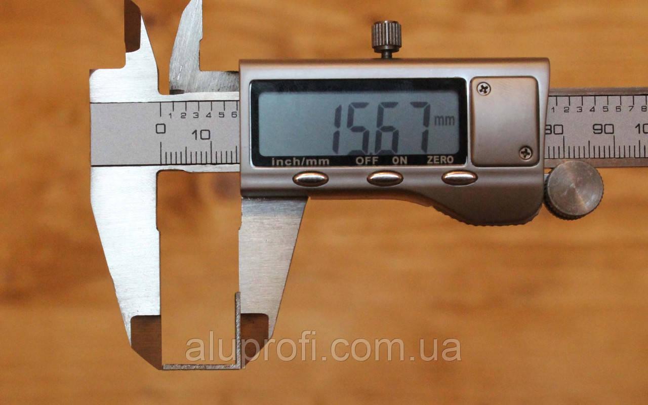 Уголок алюминиевый 15х15х2 мм АД31Т