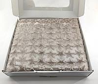 Дитячий плед ковдру Туреччина для новонародженого подарунок новонародженому коричневе (НДП25)