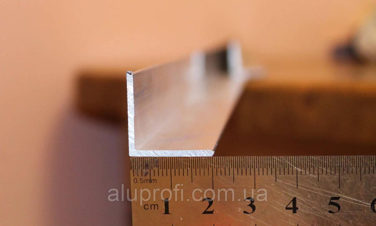 Уголок алюминиевый 20х20х3 мм АД31Т