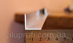 Уголок алюминиевый 20х20х2 мм АД31Т