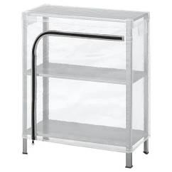 Стеллаж с чехлом IKEA HYLLIS 60x27x74 см прозрачный (692.859.39)