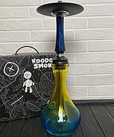 Кальян Voodoo Smoke Down - черно-синий Drop двухцветной