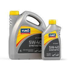 Моторна олива YUKO Synthetic 5w40 SN/CF