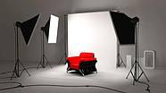 2.2*5м Фон вініловий білий МАТОВИЙ з люверсами і кишенею для поперечини фону Super Matt VINIL BD-PRO White, фото 5