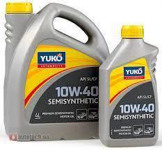 Моторое масло YUKO Semisynthetic 10w40 SL/CF