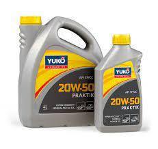 Моторное масло YUKO Praktik 20w50 SF/CC
